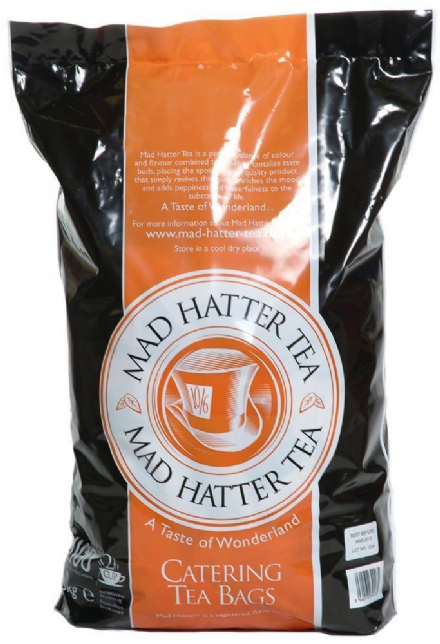 Mad Hatter Tea 1100's 2 cup catering teabags